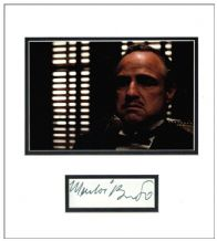 Marlon Brando Autograph Display - The Godfather